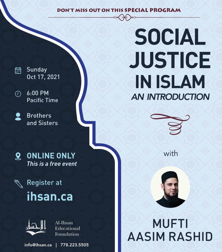 Social Justice Al Ihsan